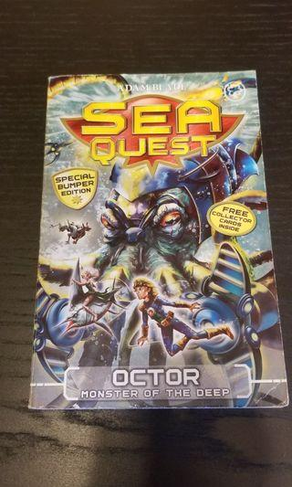 Adam Blade Sea Quest story book