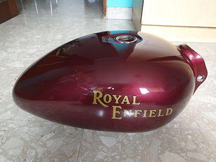 Royal Enfield fuel tank