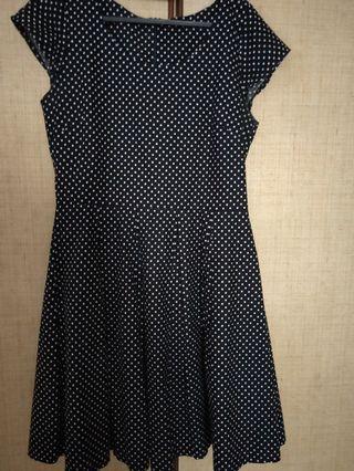 Pretty poka dot dress
