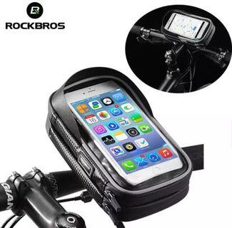 RockBros Bicycle Phone Holder waterproof hand phone holder water proof holder
