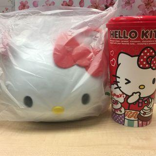 🚚 Hello Kitty Popcorn Bucket and Tumbler