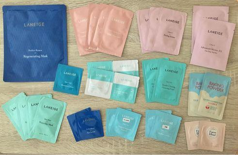 Laneige Regenerating Mask 面膜 + 各款 Samples