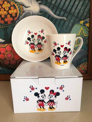 全新米奇經典浪漫午茶時光陶瓷組