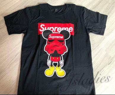 Supreme Mickey Black Size L