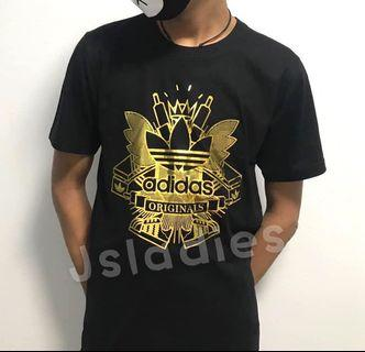 Adidas Gold Black T-shirt instock
