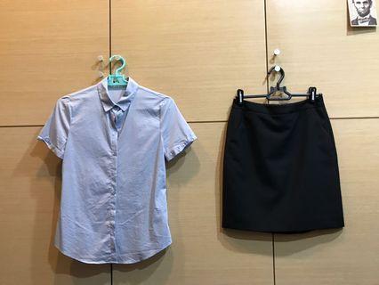 🚚 二手/G2000🌸短袖正式套裝(可拆賣)