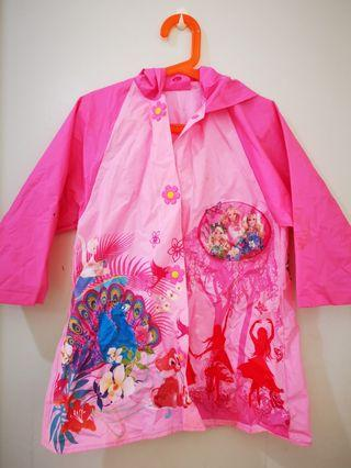 Princess rain coat 6-7yo