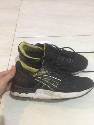 Asics gel lyte V black gold premium quality