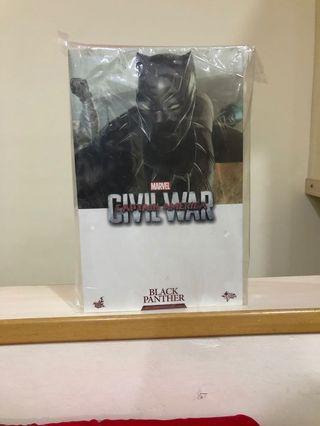 🚚 Hot Toys Black Panther Civil War MMS363 MISB