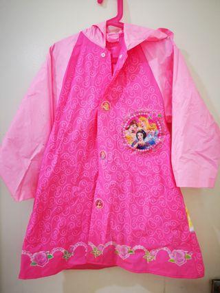 Princess rain coat 8-9yo