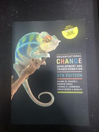 🚚 Organisational Change Development and Transformation 5th Edition
