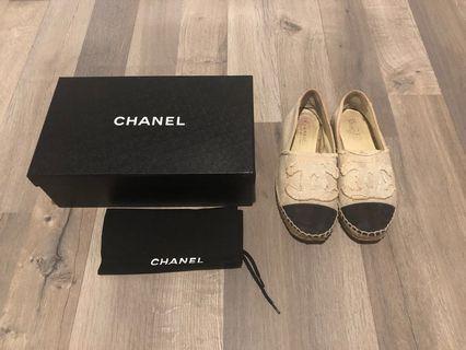 Chanel Espadrilles Flats Shoes