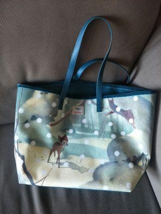 Cath kidston 迪士尼托特包 Disney Bambi tote bag
