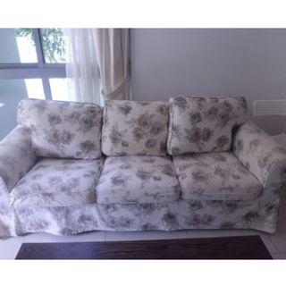 Sale! Beautiful 3 seater fabric sofa $250 only!