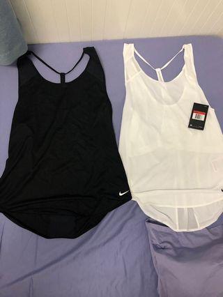 Nike dry fit 背心 運動背心 跑步tee(黑色已售)