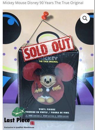 🚚 [BNiB] [RARE Collectible] Conductor  Disney © Pop® 90 Years The True Original Funko Mickey Mouse Vinyl