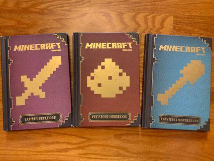 二手Minecraft Handbook 三本
