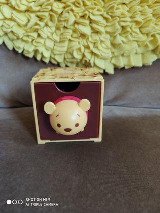 🚚 7-11 tsum tsum drawer Pooh head