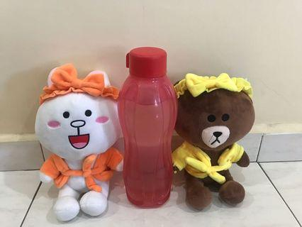 Line Brown and Cony Plush