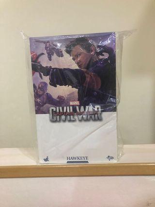 🚚 Hot Toys Civil War Hawkeye MMS358 MISB