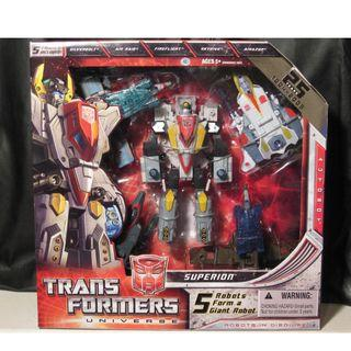 Transformers Universe Superion New