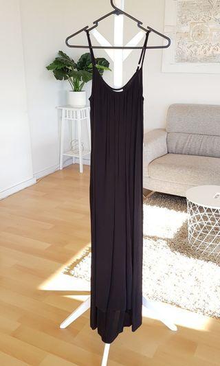 Seed Black Maxi Dress Size 6