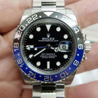 Rolex GMT Master II Batman 116710 BLNR discon