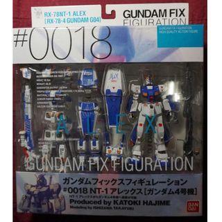 Gundam GFF 18 Rx78NT-1 Alex New