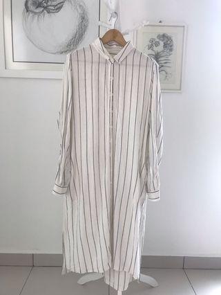 Marks & Spencer Long Linen Dress