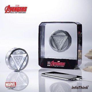復仇者聯盟2 Iron Man反應爐行動電源USB充電