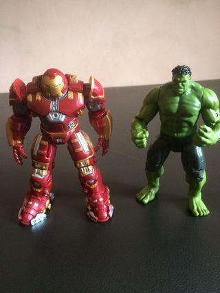 Hulkbuster & Hulk