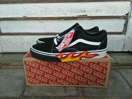VANS OS FLAME CUT OUT