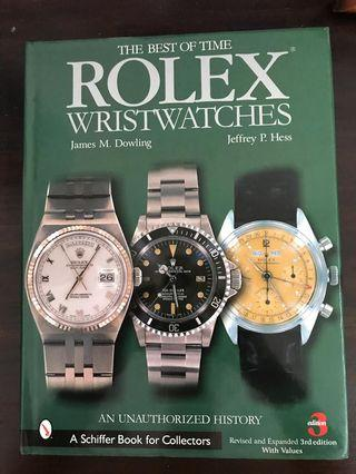 Rolex collector's book
