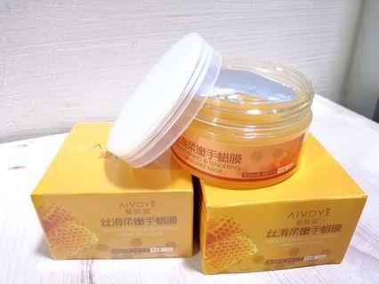 Aivoye Milk and Honey Hand Wax Mask 120g