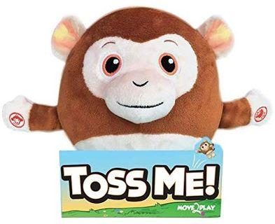 Move 2 Play Hilarious Animals Made To Get Kids Active, Fuzzy Flyers, Kiki the Plush Monkey
