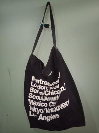 Totebag Slingbag Handbag American Apparel Cities