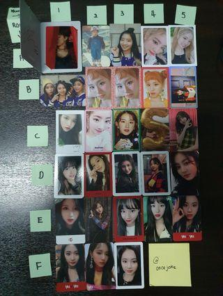 TWICE PHOTOCARD (OFFICIAL)