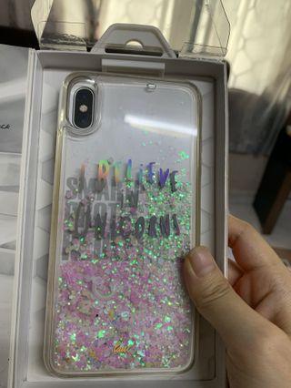 Unicorn iphone xs max casing (i believe in unicorn)