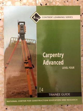 Carpentry Advanced, Level Four (4th Edition)