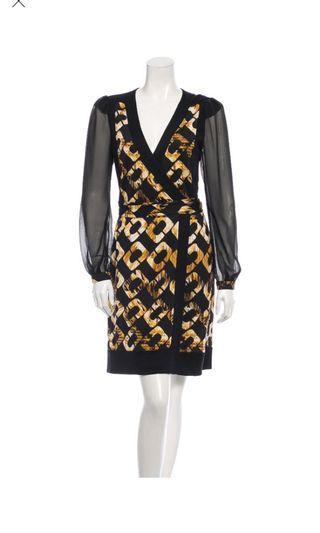 🚚 Diane Von Furstenberg wrap dress NWT