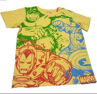 Kids / Teens Marvel Tee (Yellow)