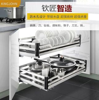 *Brand new* kitchen rack for plate & pots