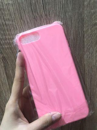 Case iPhone 7+soft pink