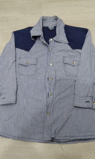 VJ jeans Checkered Shirt