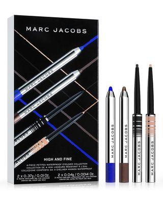 MARC JACOBS - 4 piece waterproof eyeliner limited edition collection (High and Fine) on sale