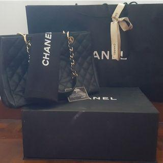 Authentic Preloved Chanel GST Bag