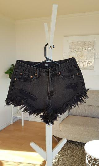 Glassons Jean's Denim Shorts Size 6 Black Blue $10 Each