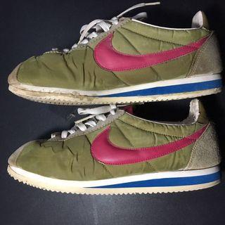 Nike Cortez warna pink dan coklat size 44