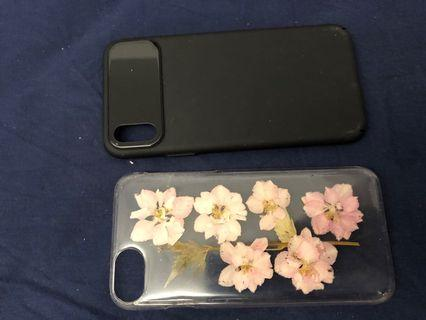 iPhone X and iPhone 6 cases