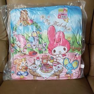 全新 正品 Sanrio Melody cushion 42cm x 42cm 墊子 咕𠱸